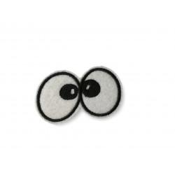 Augen Patch, schielend, ca.60mm Bügelbild, Aufbügler