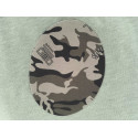 Camouflage pattern patches, green, ca.140mm
