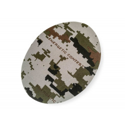 Camouflage pattern patches, sand, ca.140mm
