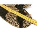 Glam heart, reversible sequins, black-gold, XL applique ca.25cm