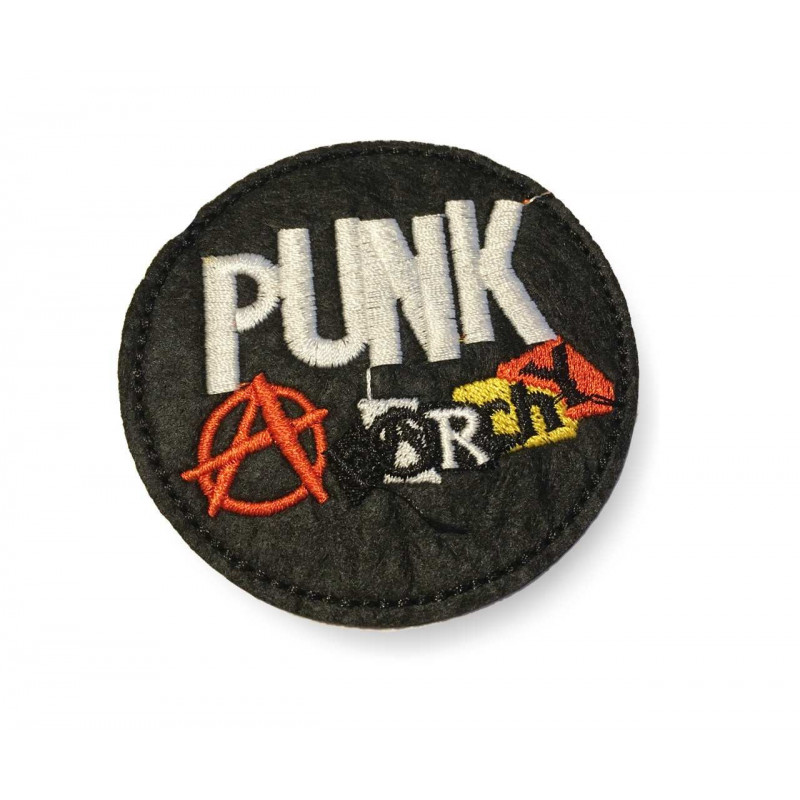ANARCHY, Punk statement Patch, ca.70mm