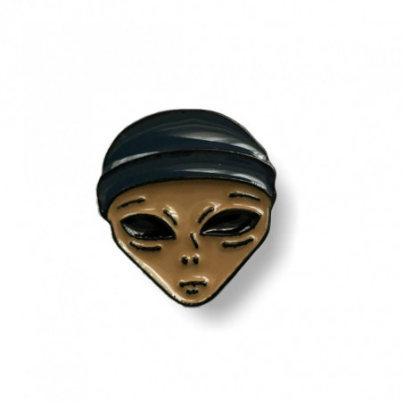 Fashion Pin ALIEN, Emaille, cm.20mm