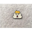 Emaille Pin Shithead Trump, cm.20mm