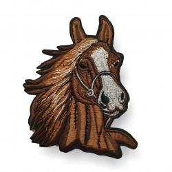 Aufnäher Pferdekopf, Bügelbild Pferd