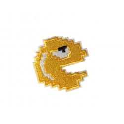 Patch PIXELBOY, gelb, Aufbügler, ca. 60mm