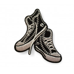 Sneaker Patch, Punk Patch iron on applique