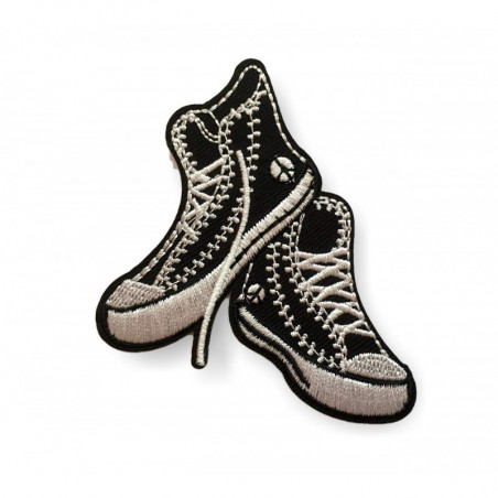 Sneaker Patch, Punk Patch zum Bügeln