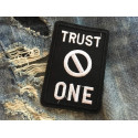 Punk Patch Trust NO ONE, statement