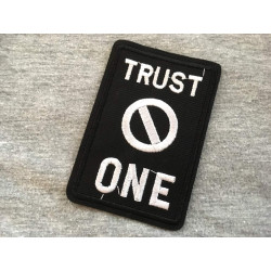 Punk Patch Trust NO ONE, statement