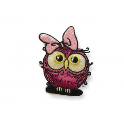 Funny hipster bird, rose girl, ca 60mm