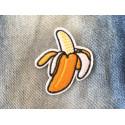 Bananen Patch, Aufbügler, ca. 80mm