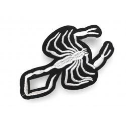 Scorpion applique, iron on patch ca.95mm