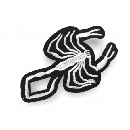 Skorpion Aufnäher zum Aufbügeln, ca. 95mm
