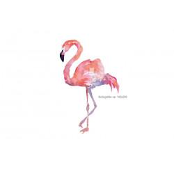 Flamingo Bügelbild, Transfer Bügelprint