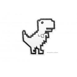 Aufnäher PIXELDINO, Dino Aufbügler, ~50mm