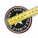 ABZEICHEN Patch, ca.70mm, Aufbügler Bügelbild