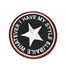 Army style patch, ca.70mm, iron on sew on