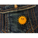 VORLAGE Fashion Pin, cm.25mm, Mode Pins Anstecknadel Badge Button