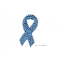 Blaue Meinungsfreiheit Soli-Schleife, Aufnäher ca.50mm