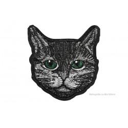 BLACK CAT Aufnäher ca.90x100mm