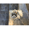 PEACE PIN, Emaille, cm.20mm, Mode Anstecknadel Button Badge Pins