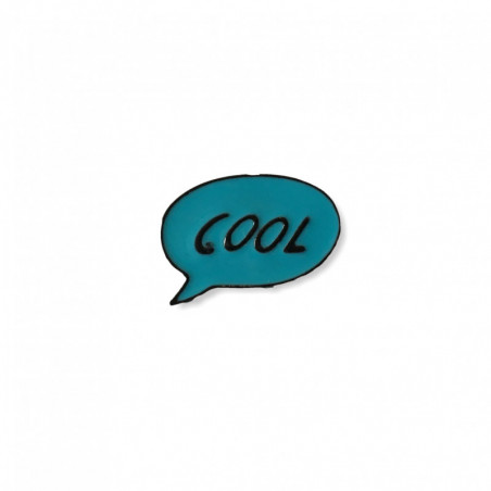 Fashion PIN COOL, Emaille, cm.25mm