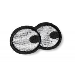 Augen Patch, ca.55mm Hingucker Bügelbild, Aufbügler